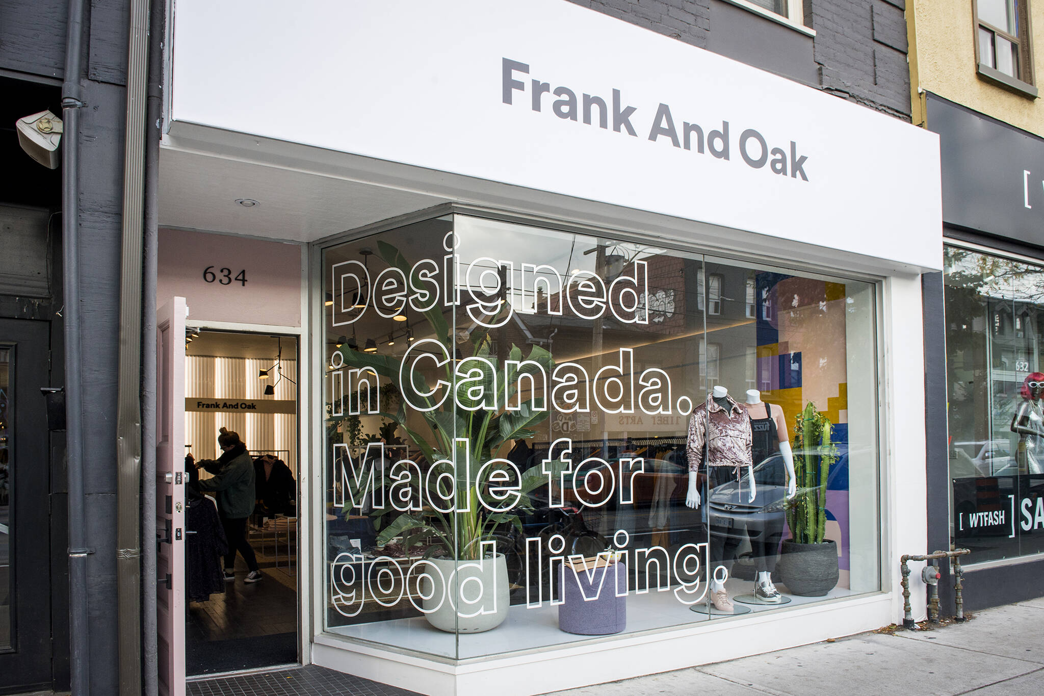 frank and oak bankruptcy