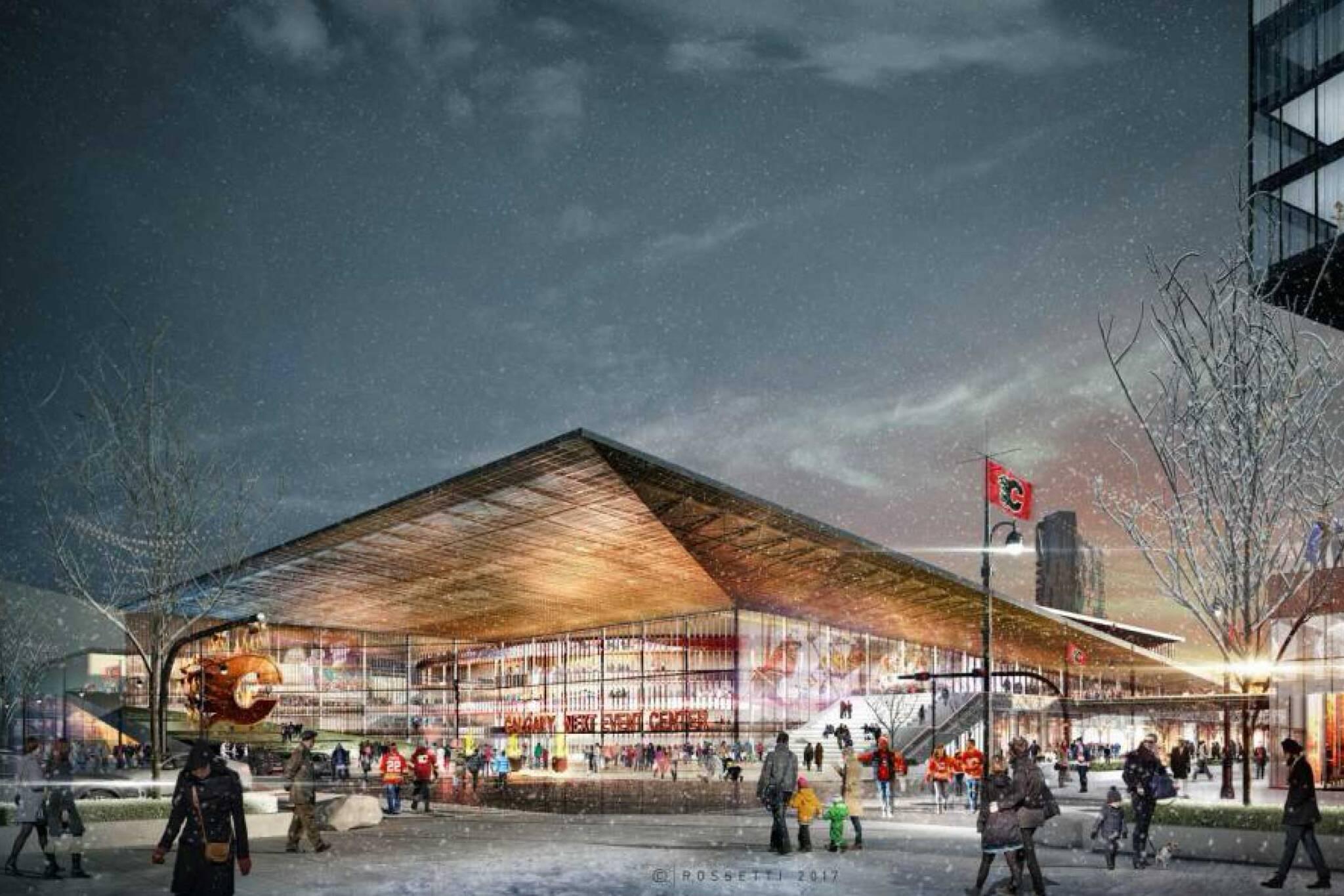new calgary arena