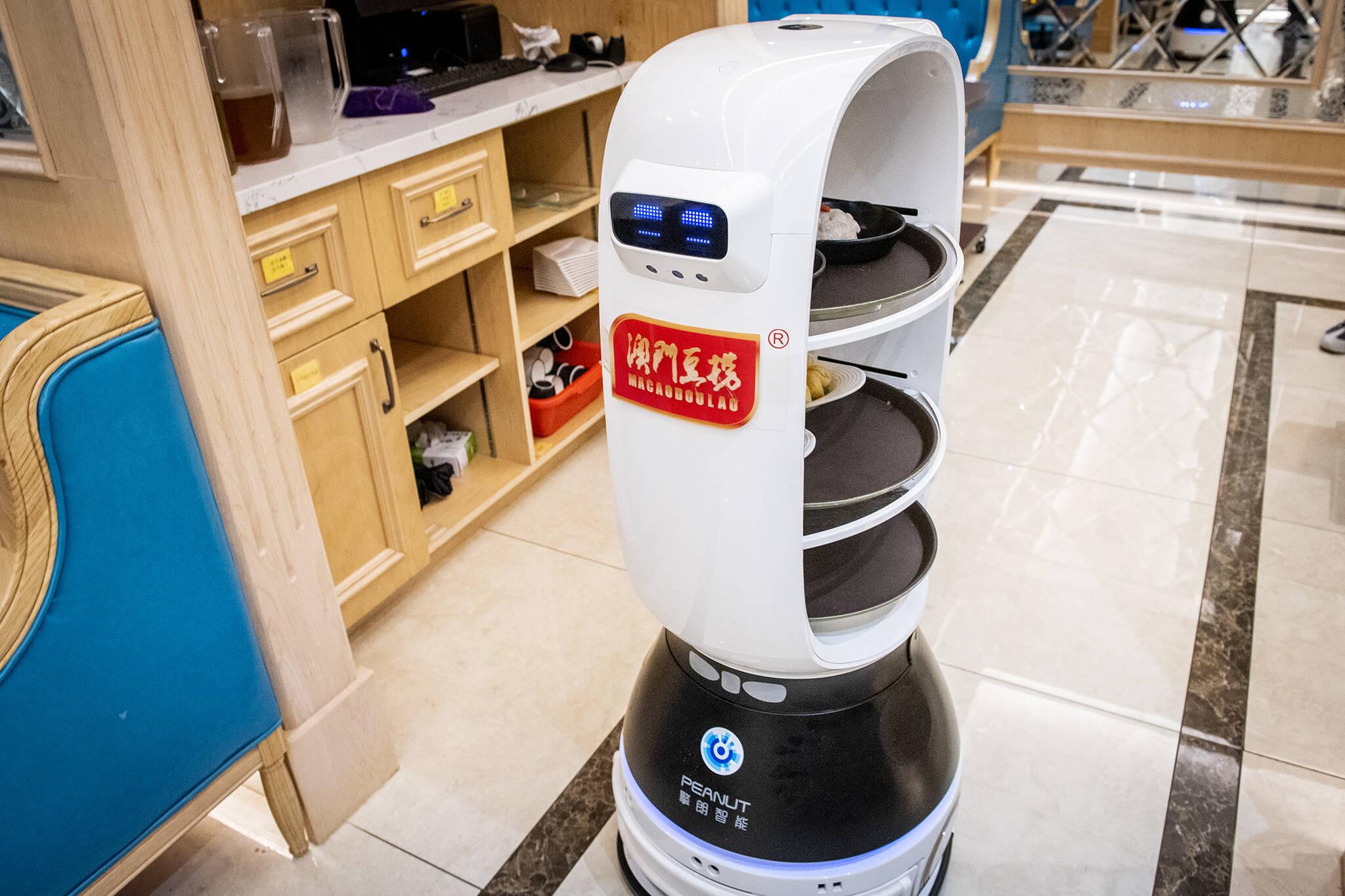 robots restaurants