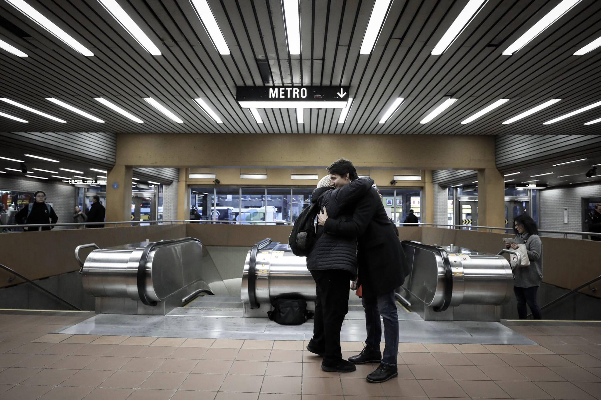 Justin Trudeau metro jarry