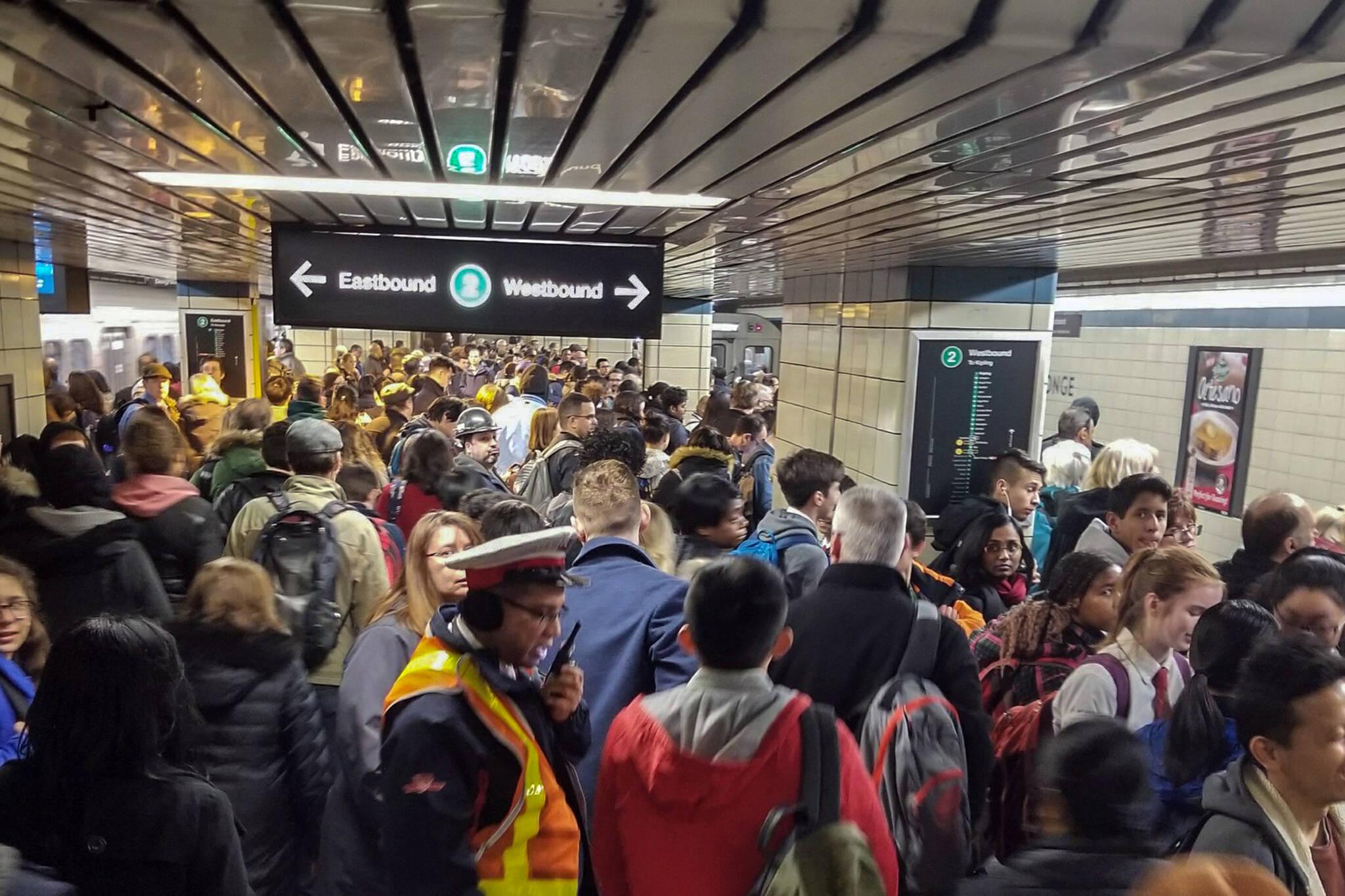 public transit delays canada