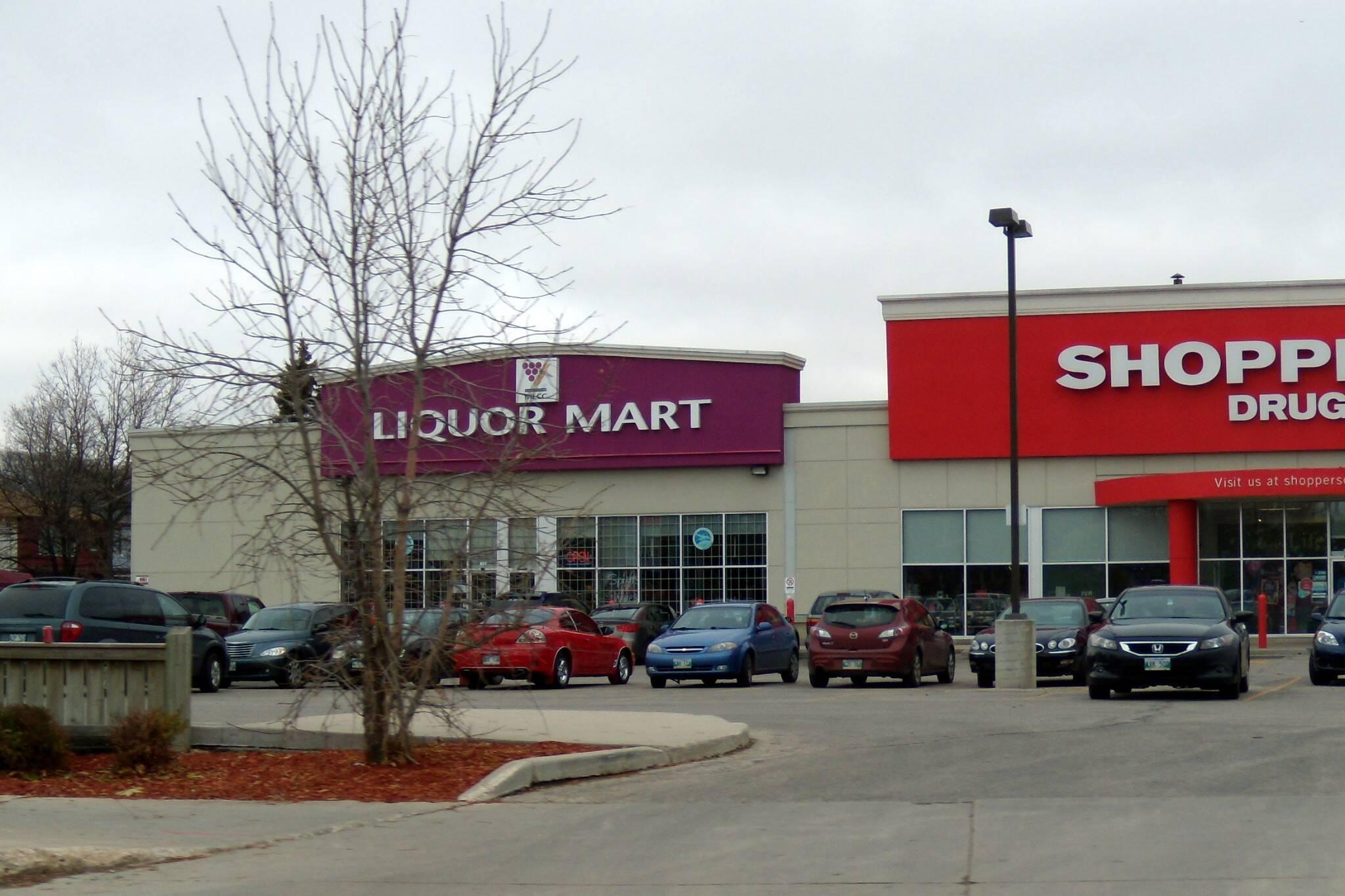winnipeg liquor store theft