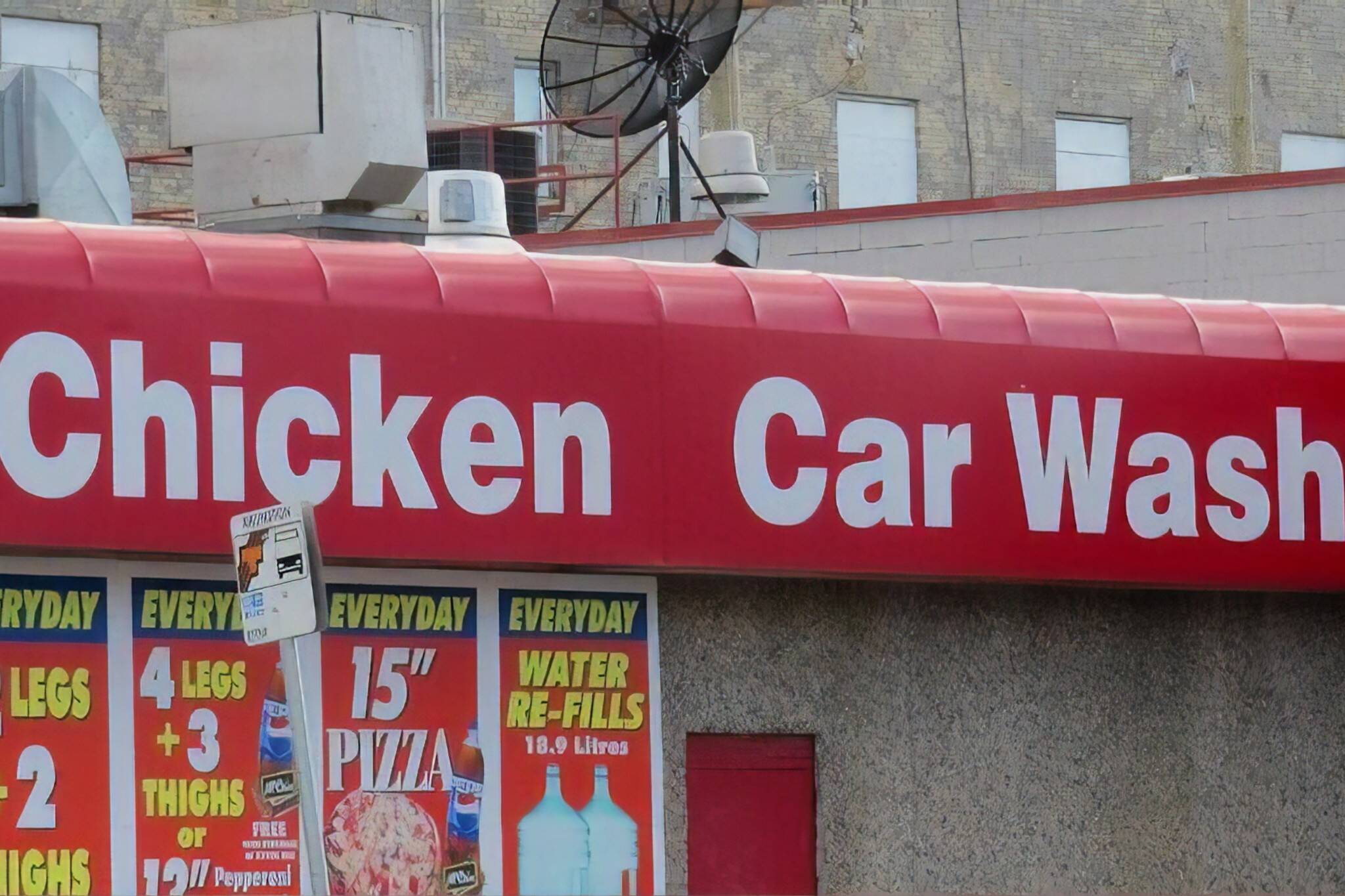 chicken car wash winnipeg