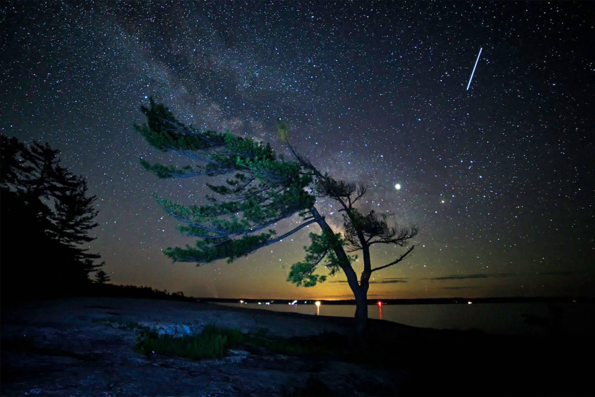 meteor shower 2020