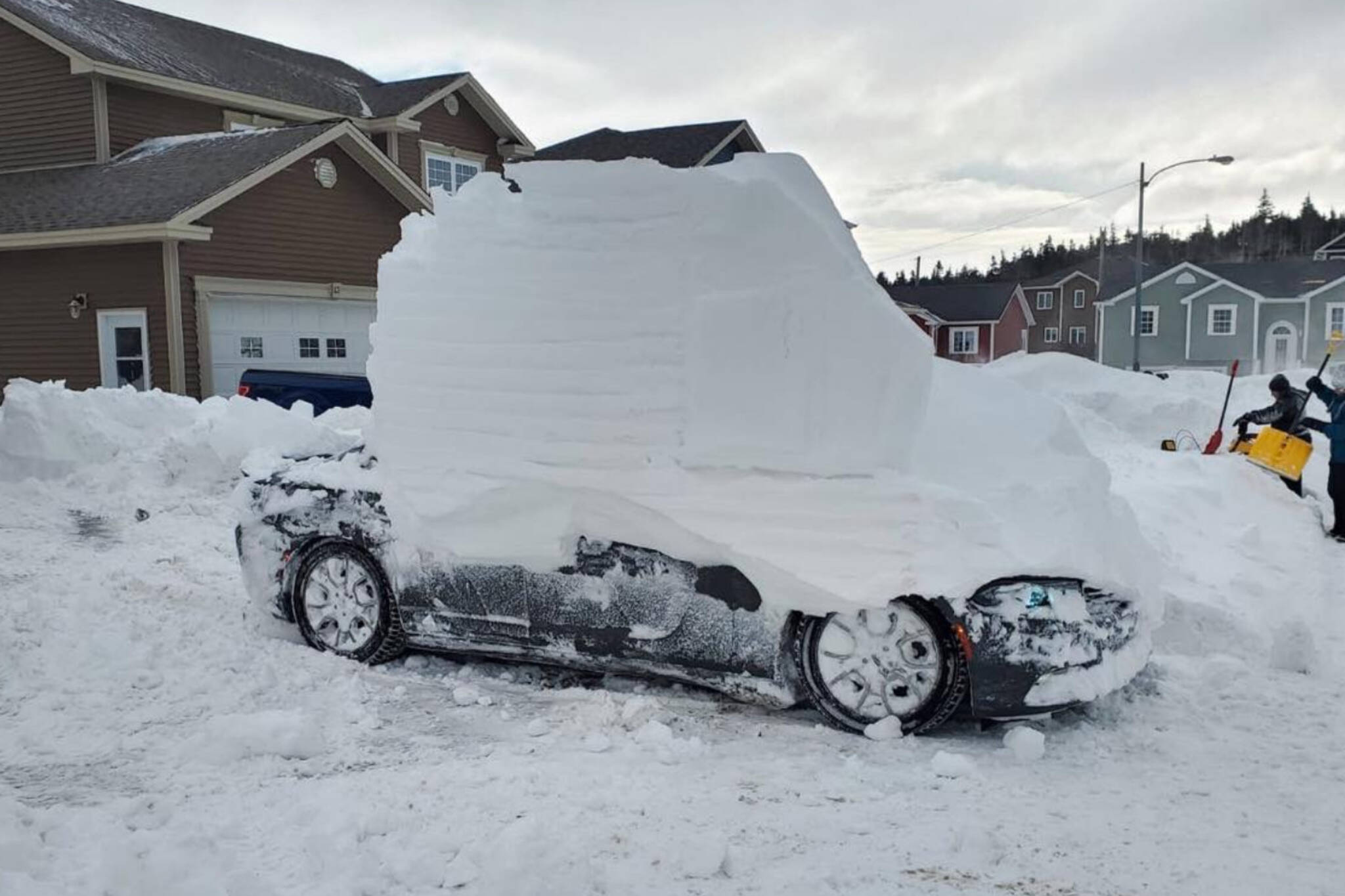 newfound snow cars