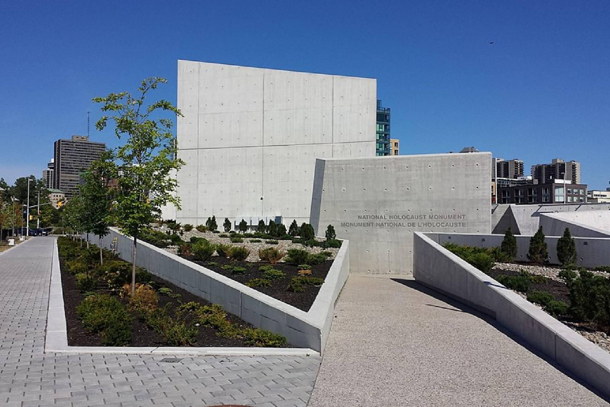 holocaust monument ottawa