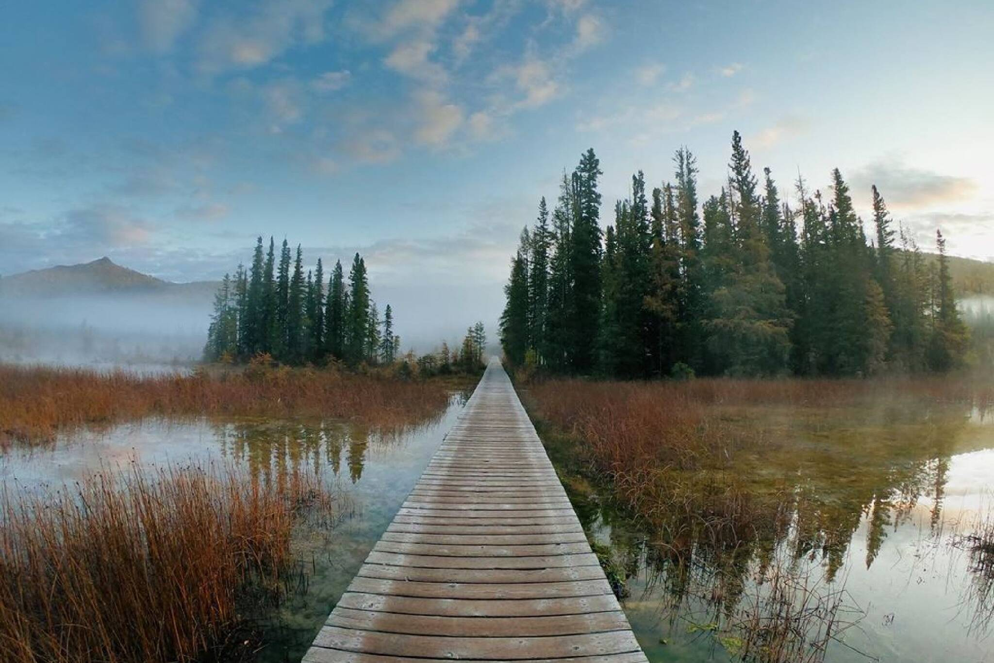 boardwalk trails Canada