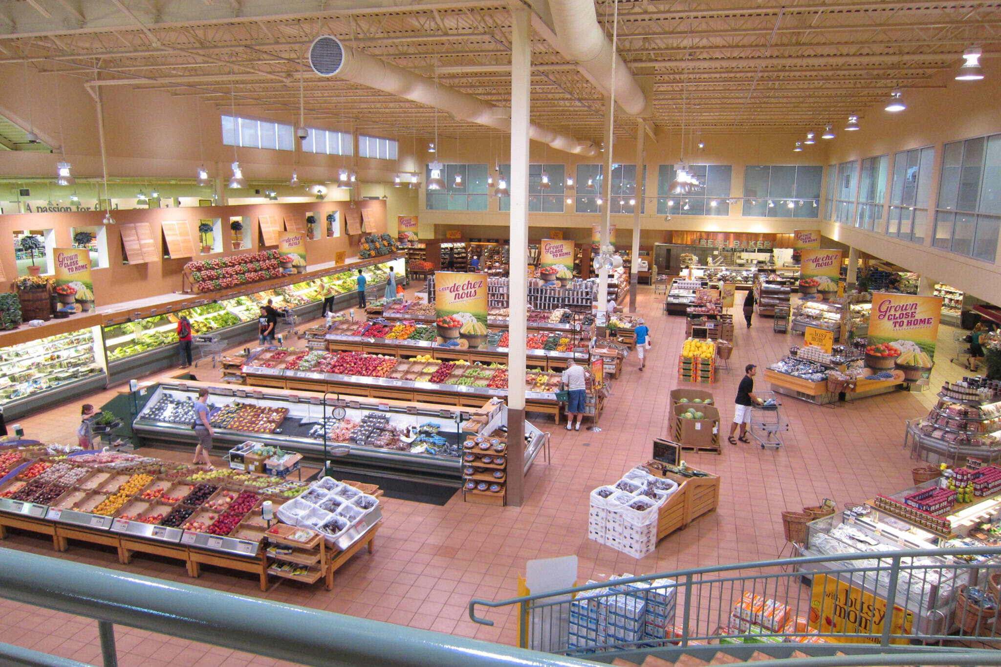 grocery store wait times canada