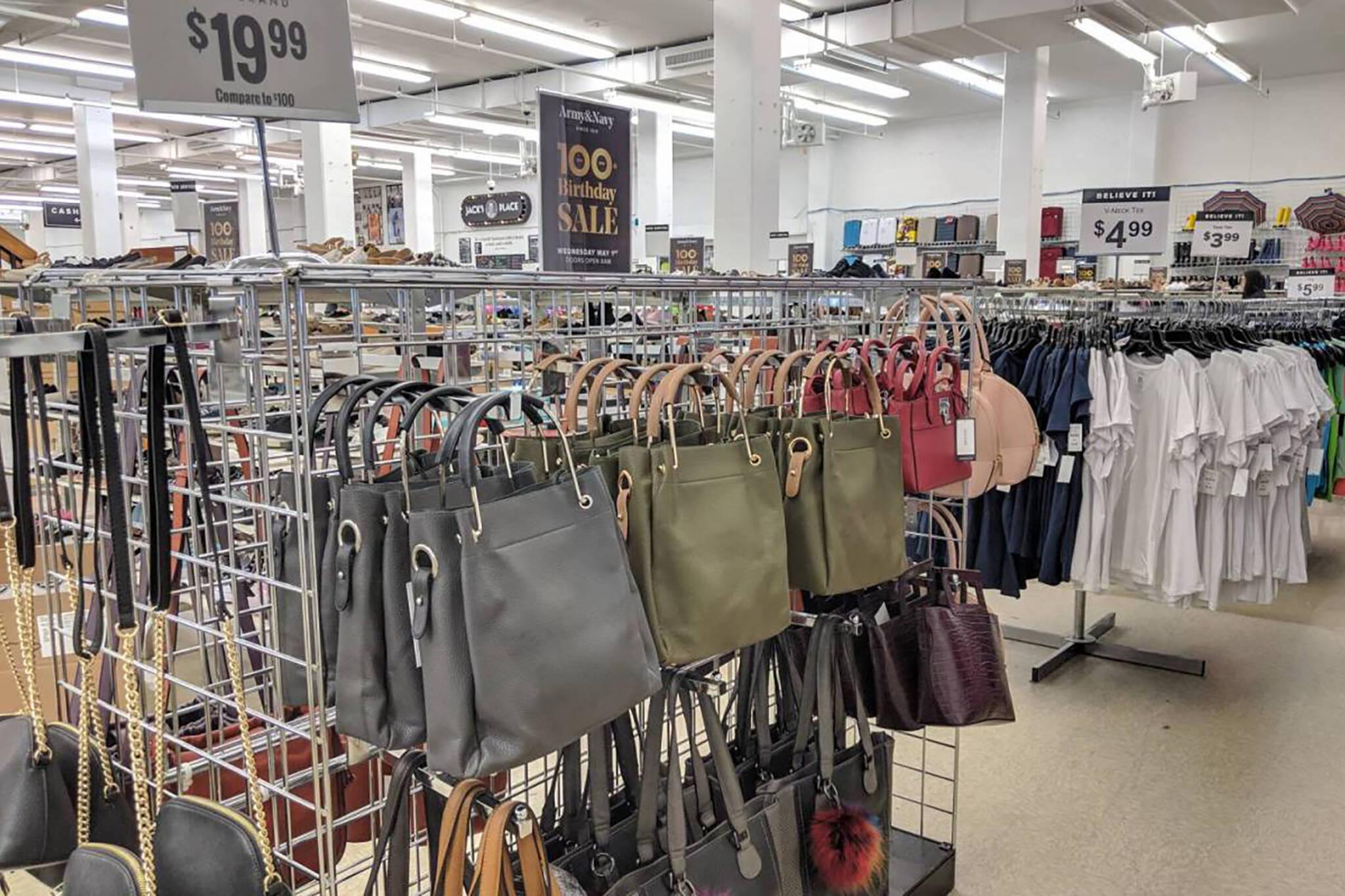army navvy store closing