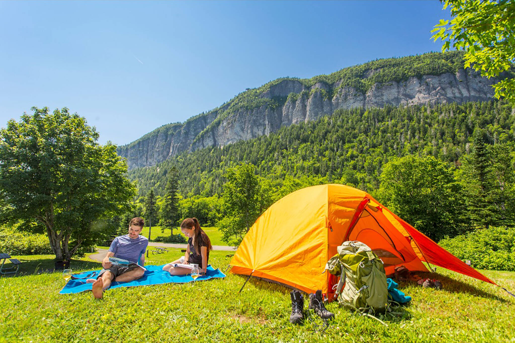 national Parks Canada camping