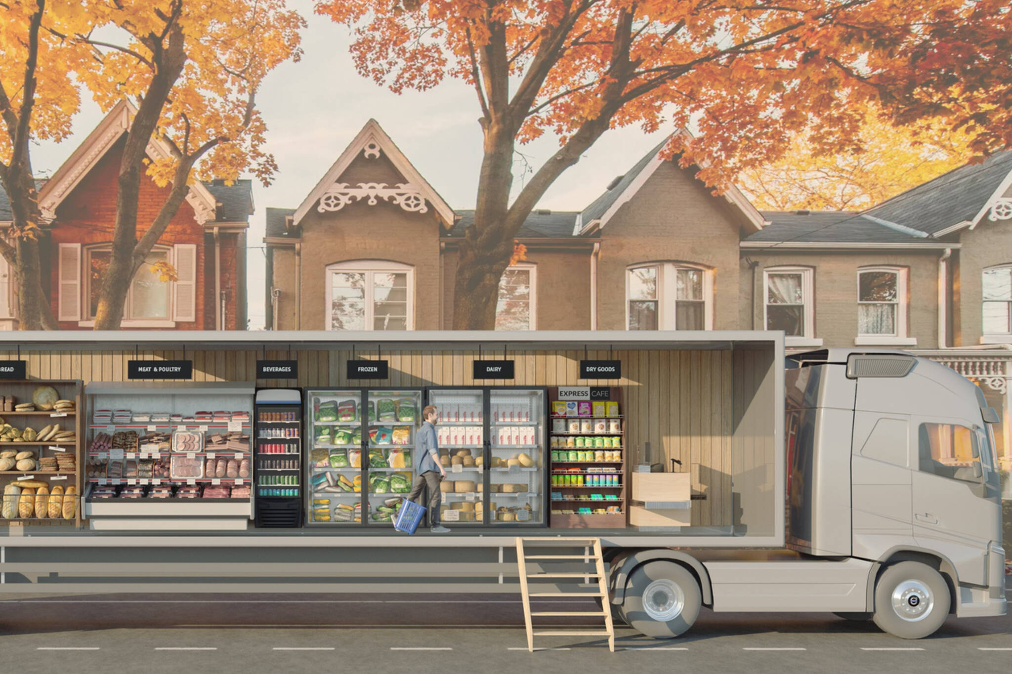 grocery truck
