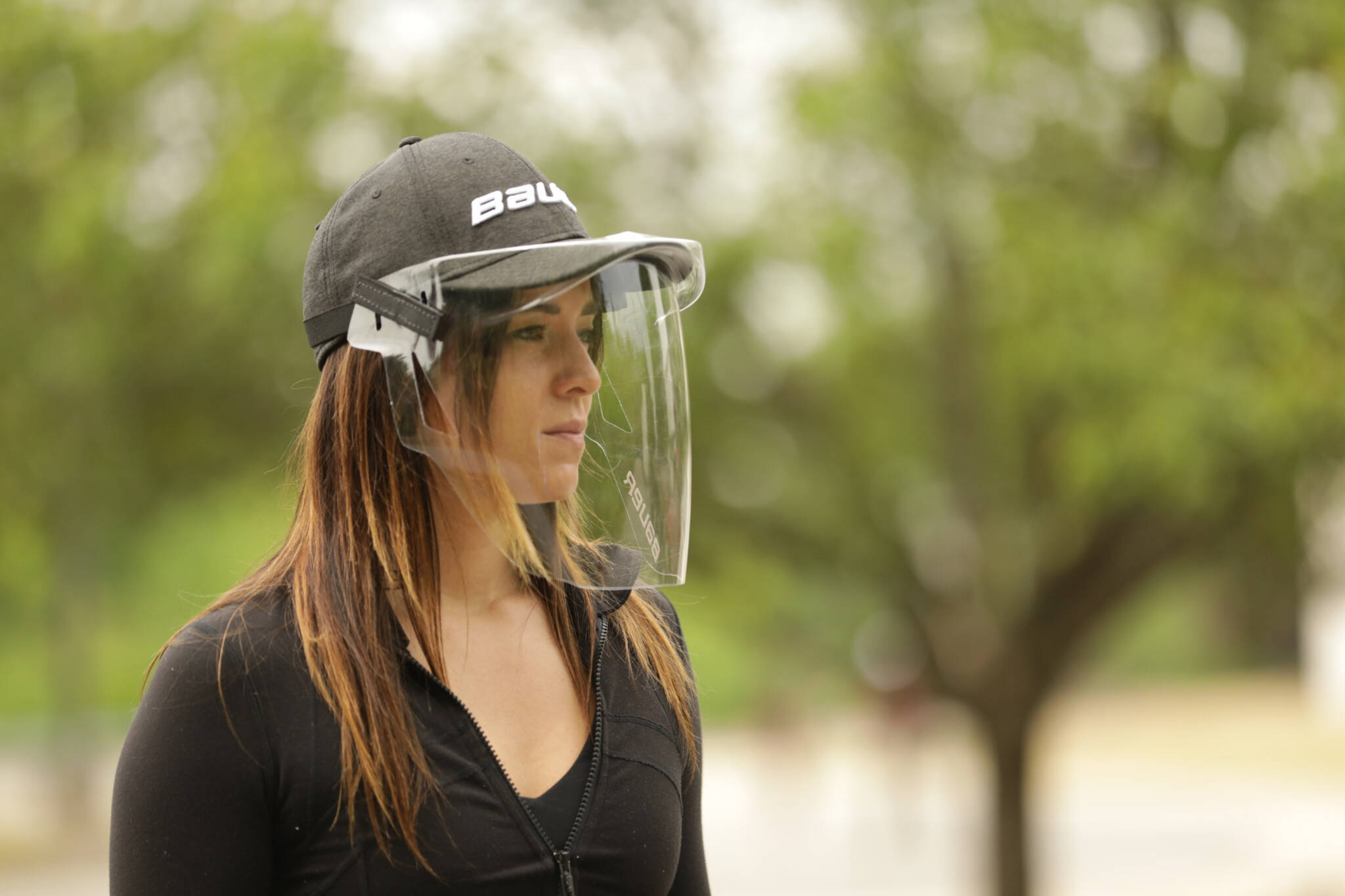 bauer face shield