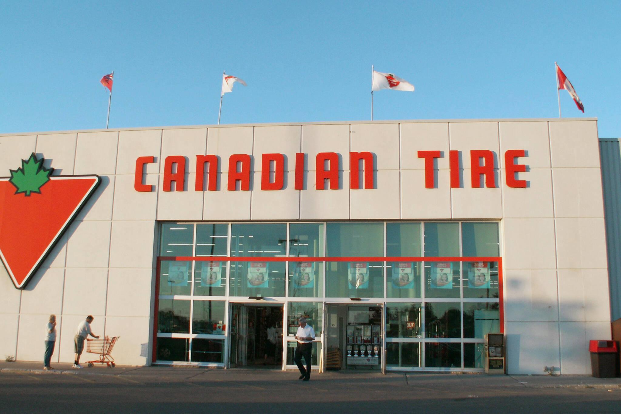 canadian tire nazi symbol