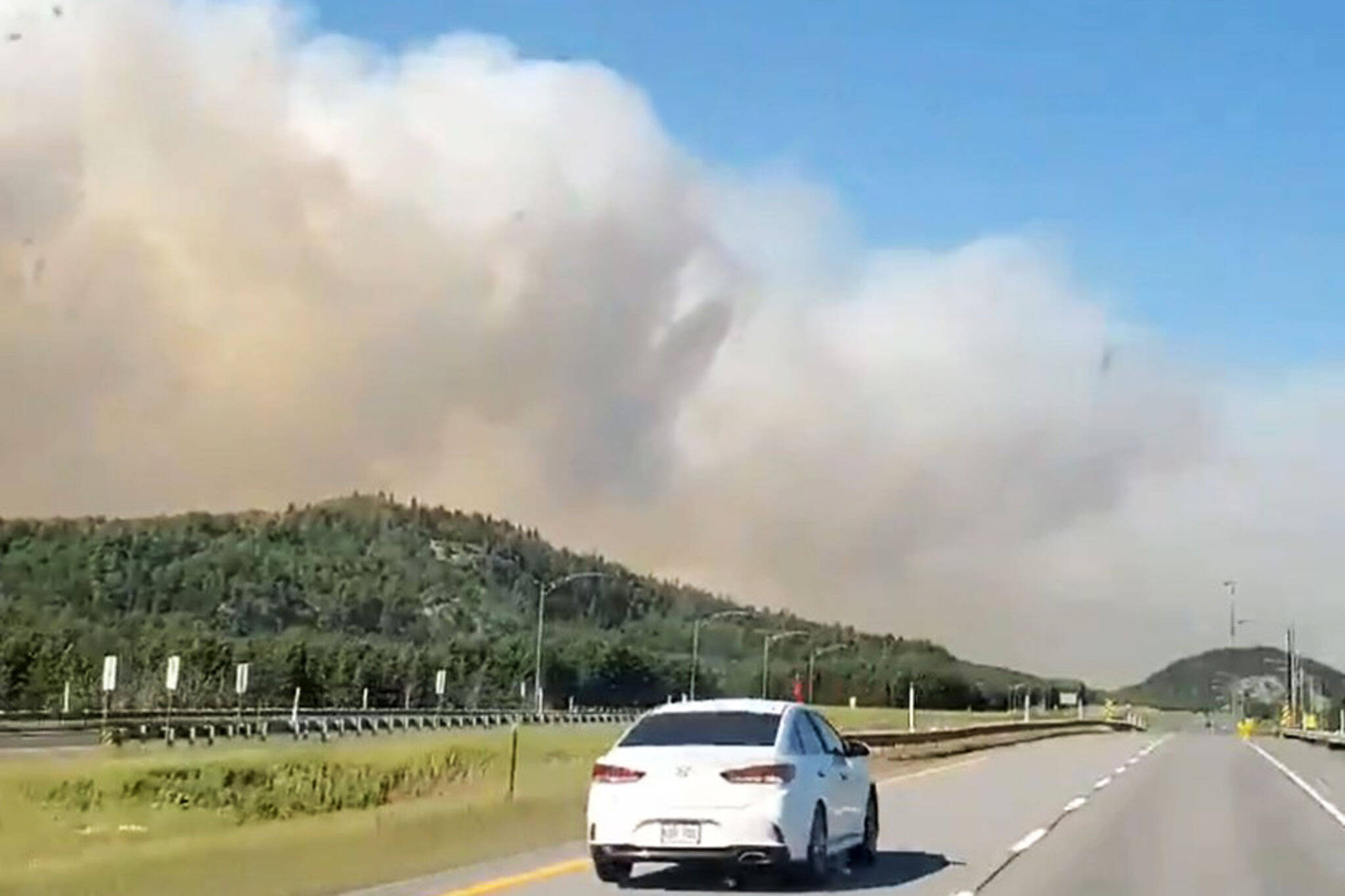 forest fire quebec