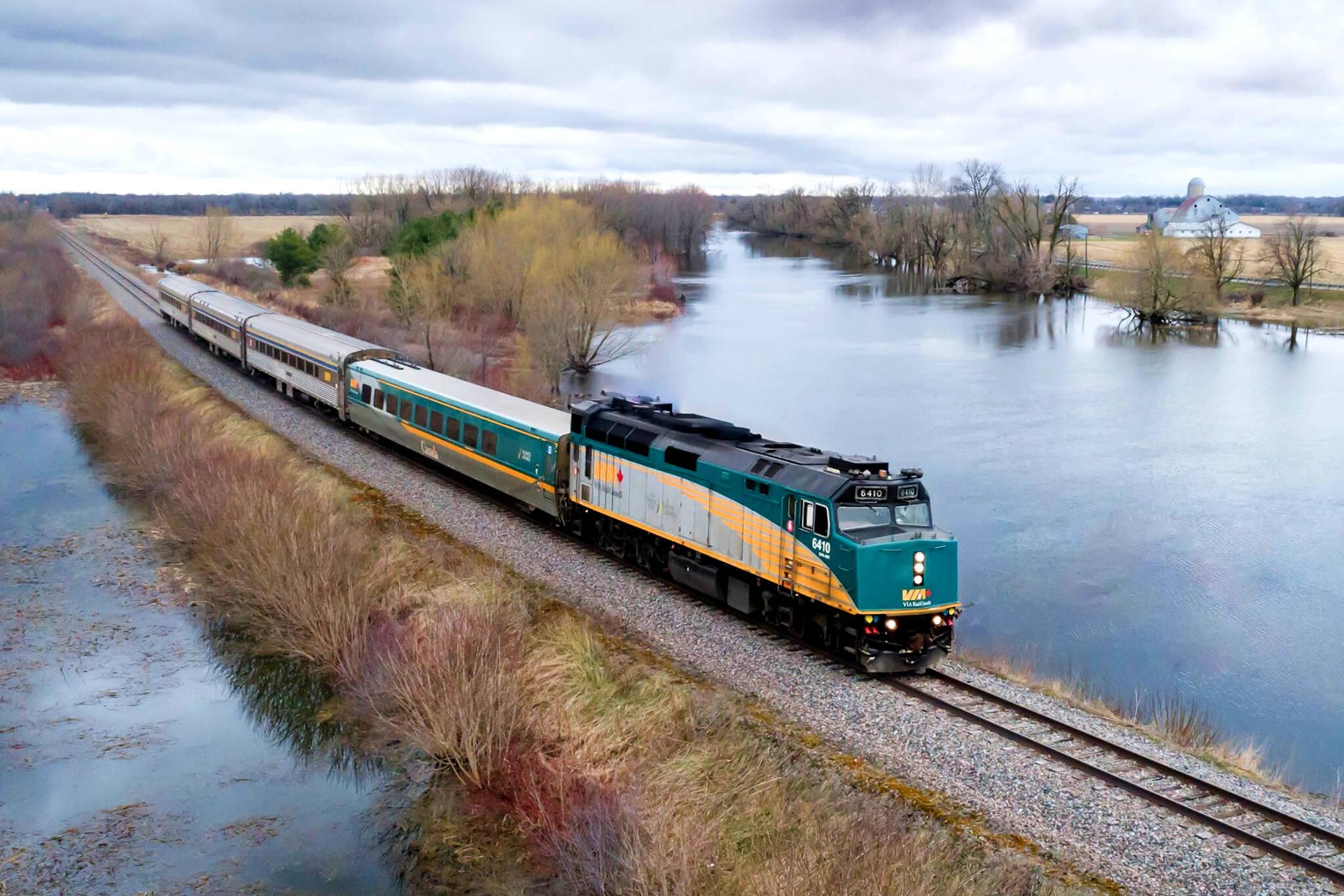 via rail layoffs