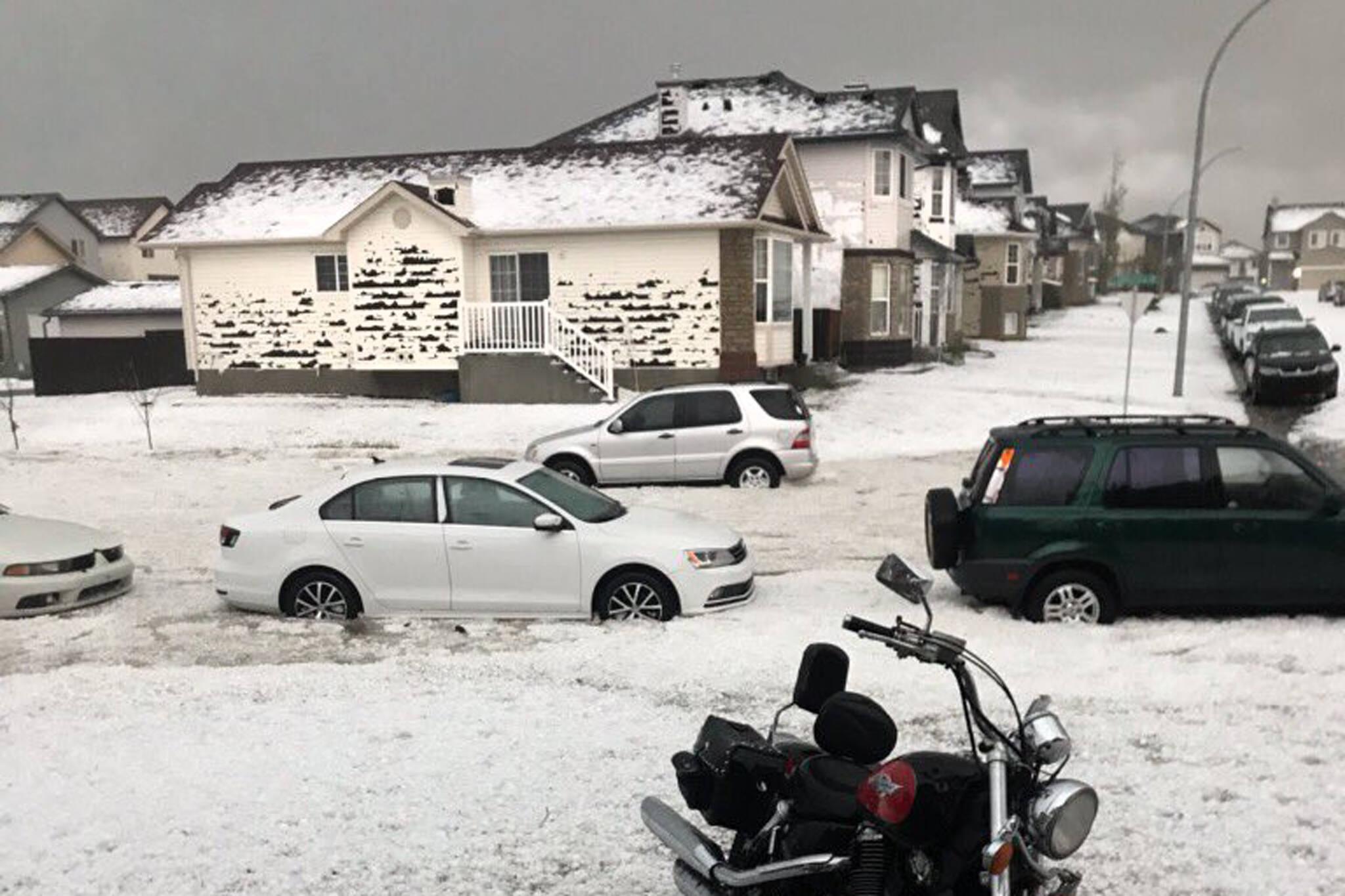 calgary hailstorm