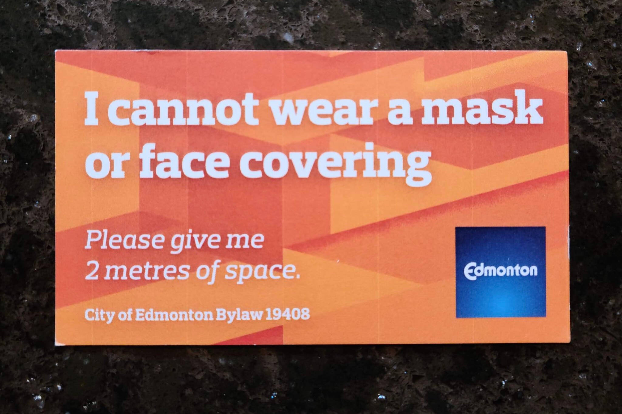 mask exemption edmonton