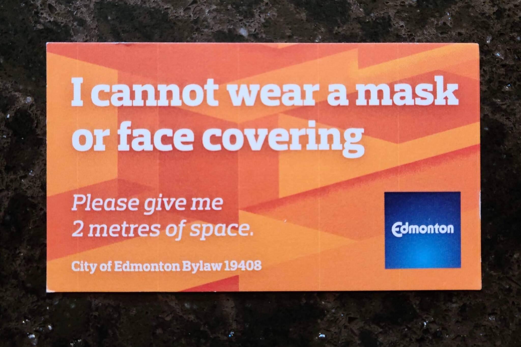 edmonton masks