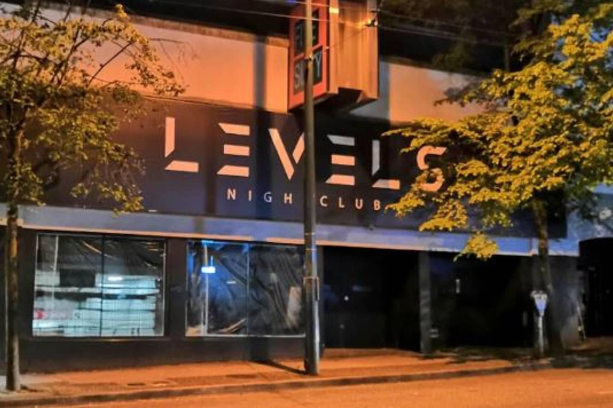 Levels Nightclub vancouver
