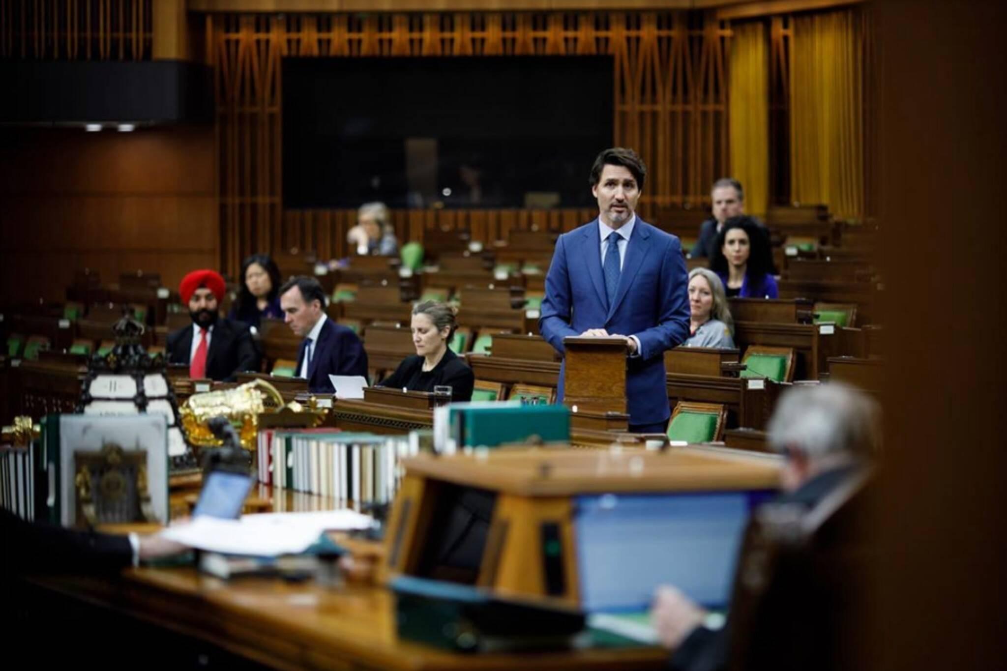 prorogue parliament