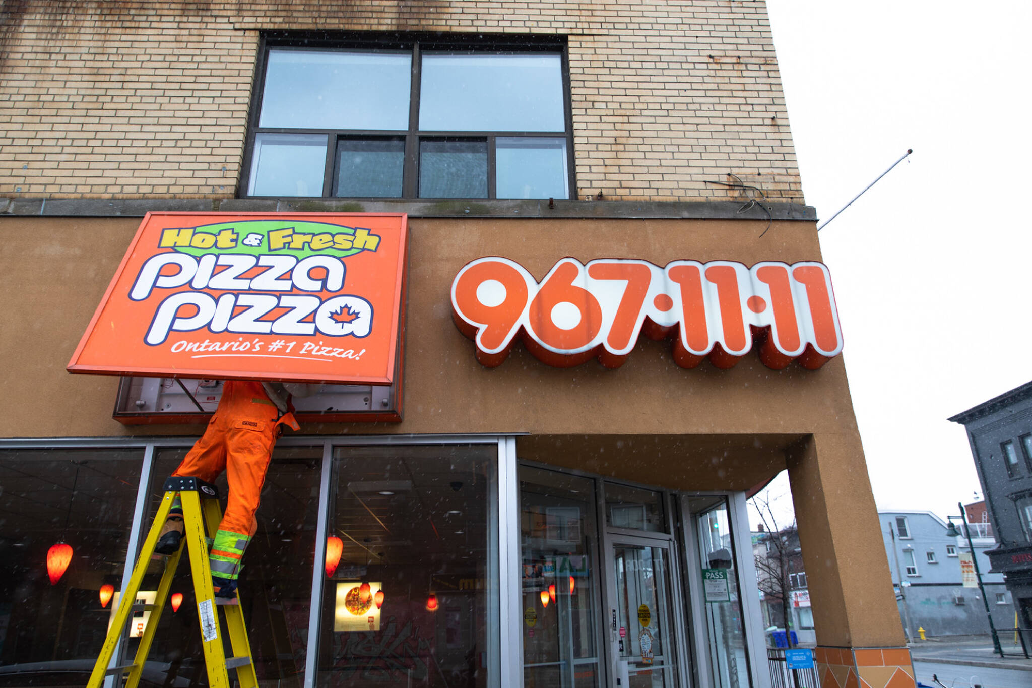 pizza pizza bankruptcy