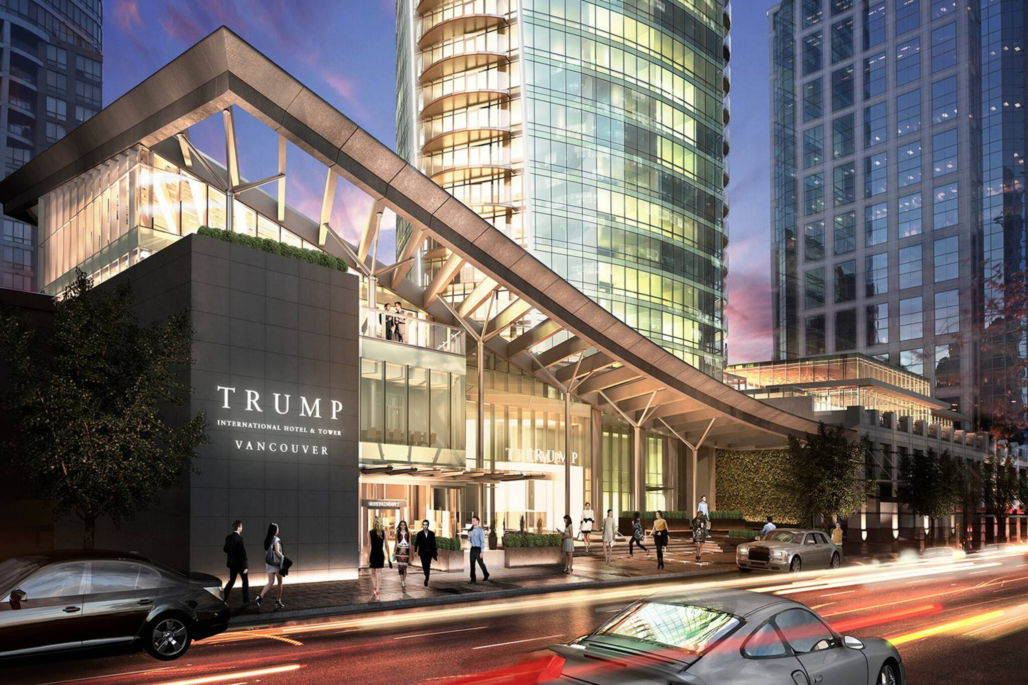 trump hotel vancouver closing