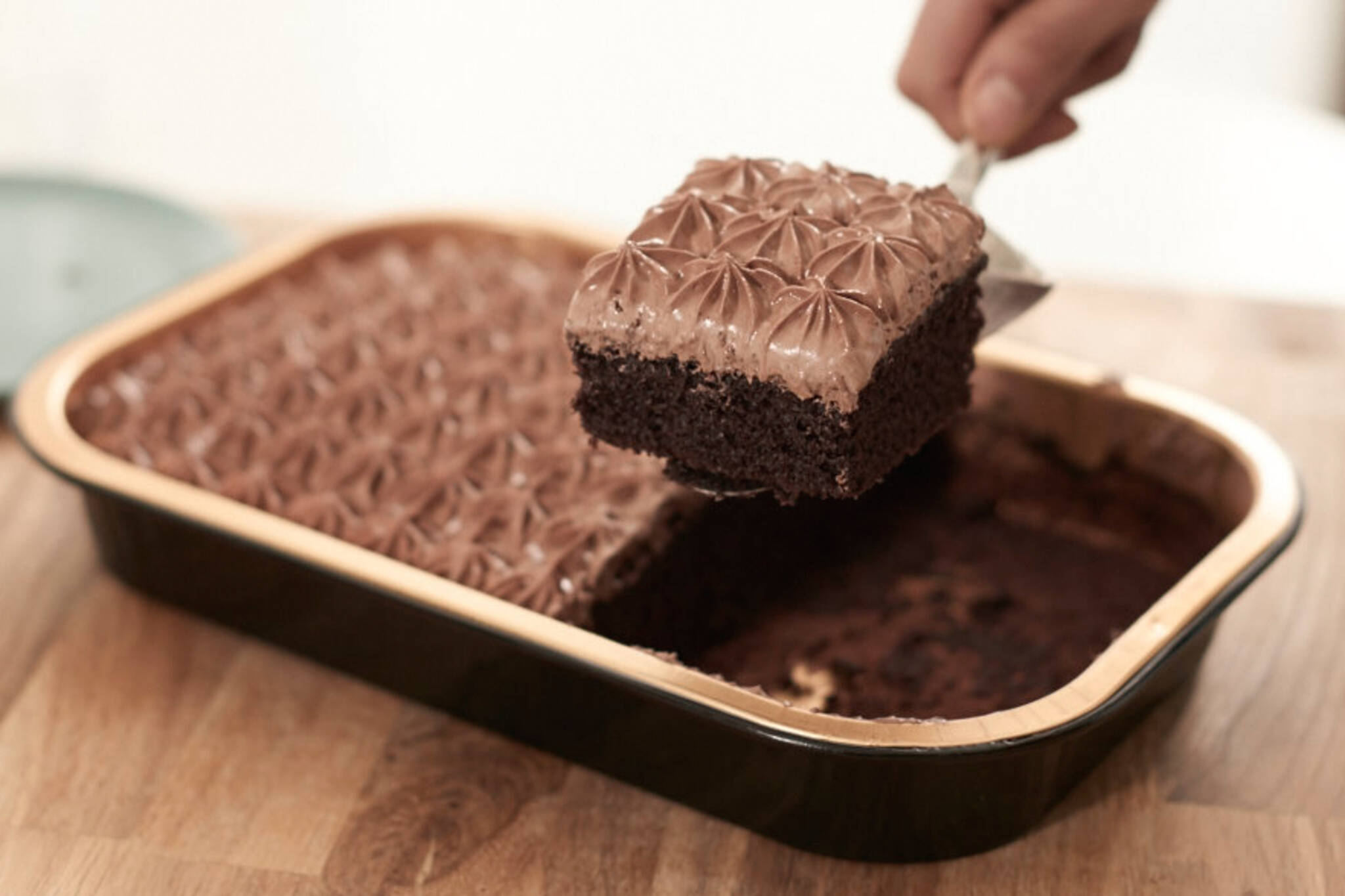 deep and delicious cake