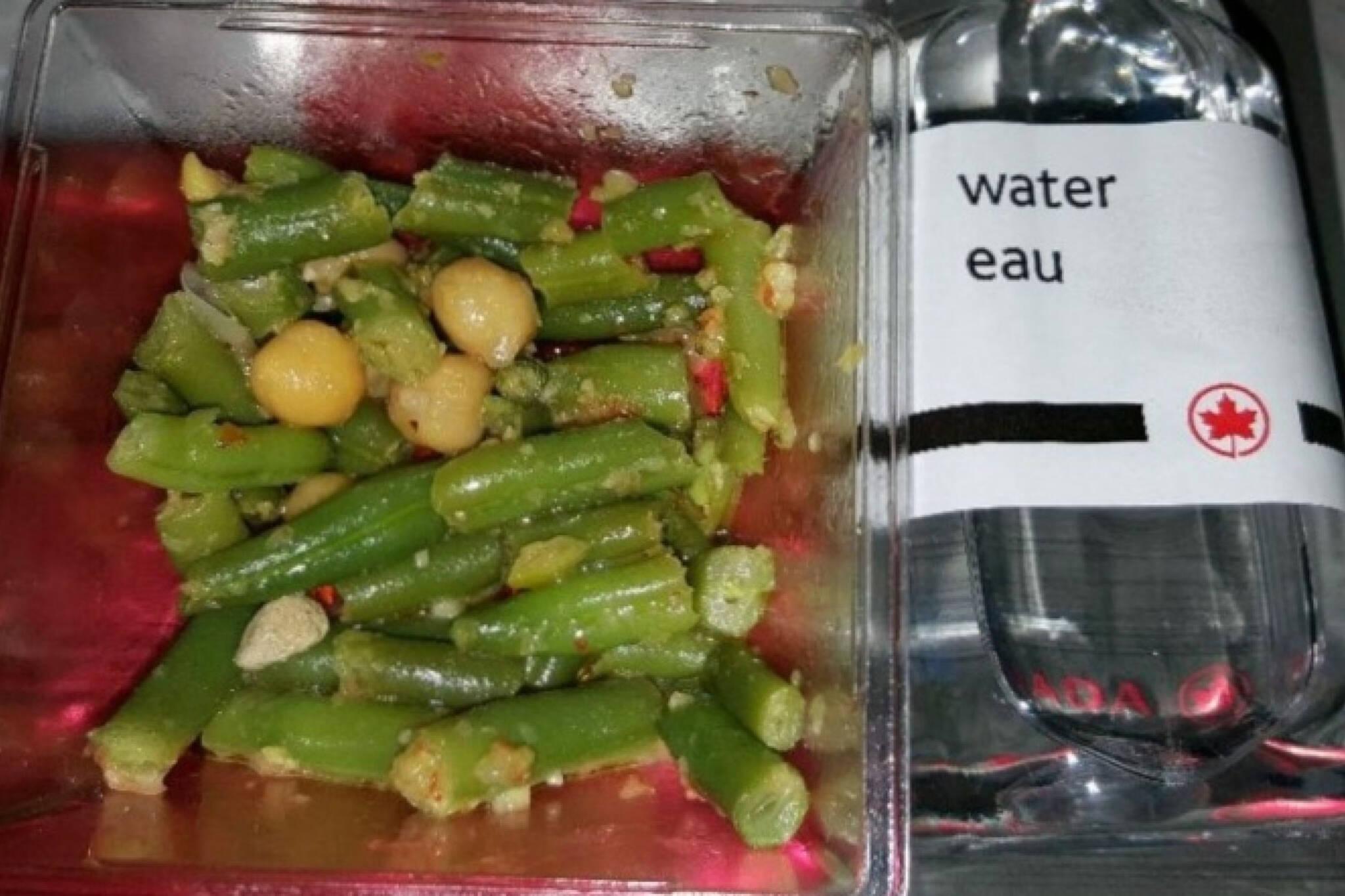 air canada meal