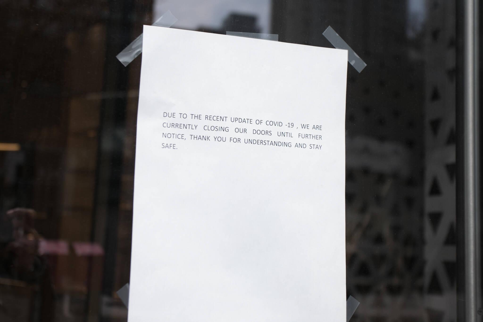 when will restaurants reopen