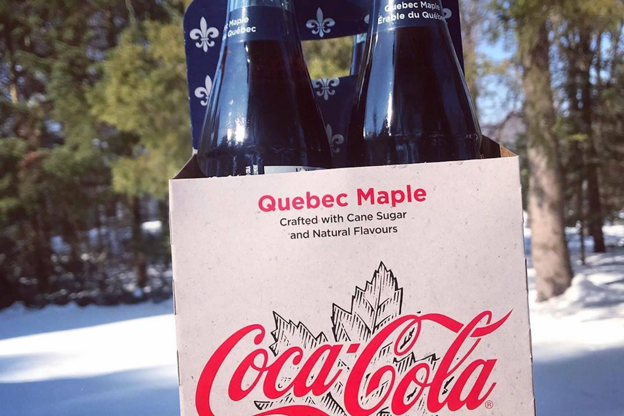 coca cola quebec maple