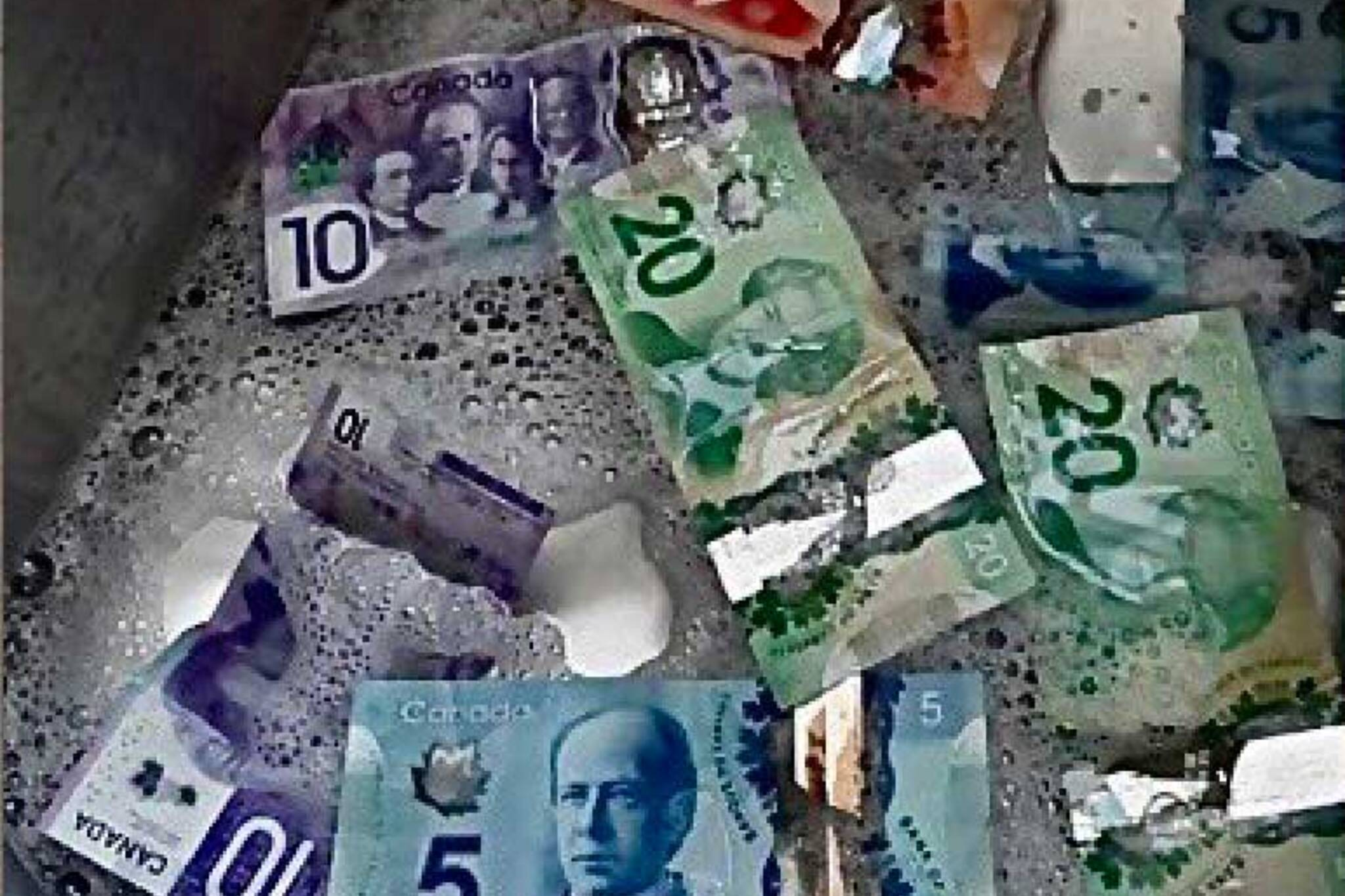 washing canadian money