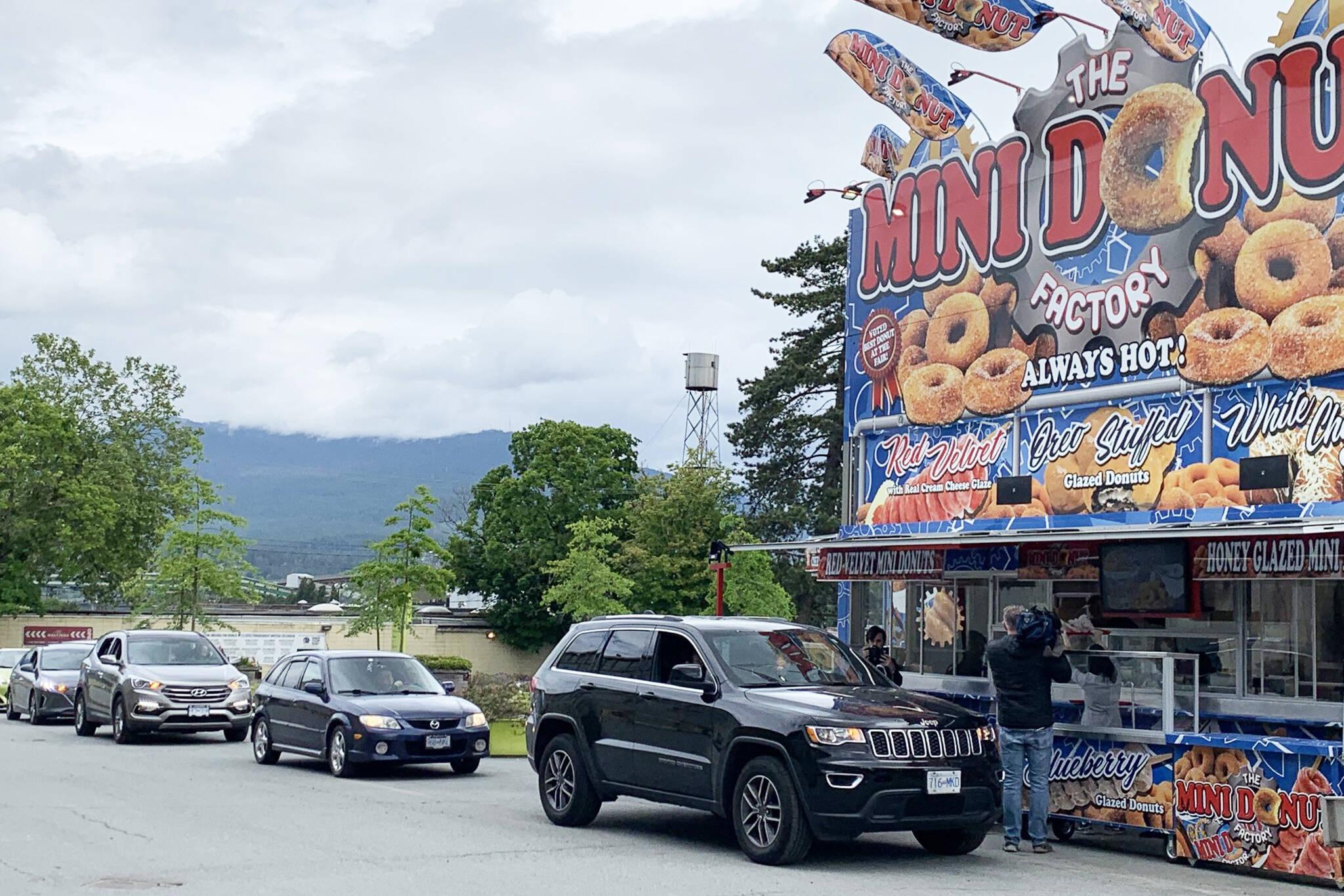 pne mini donuts drive thru