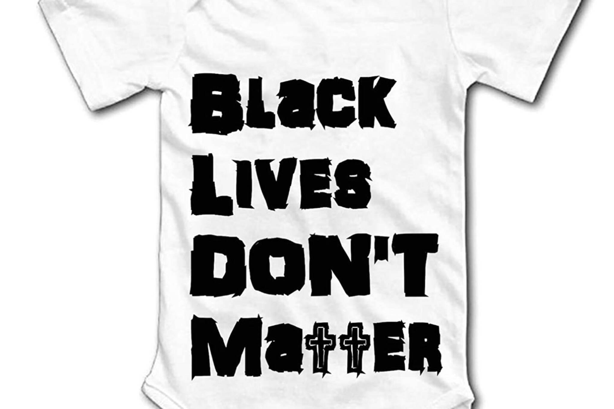 black lives dont matter