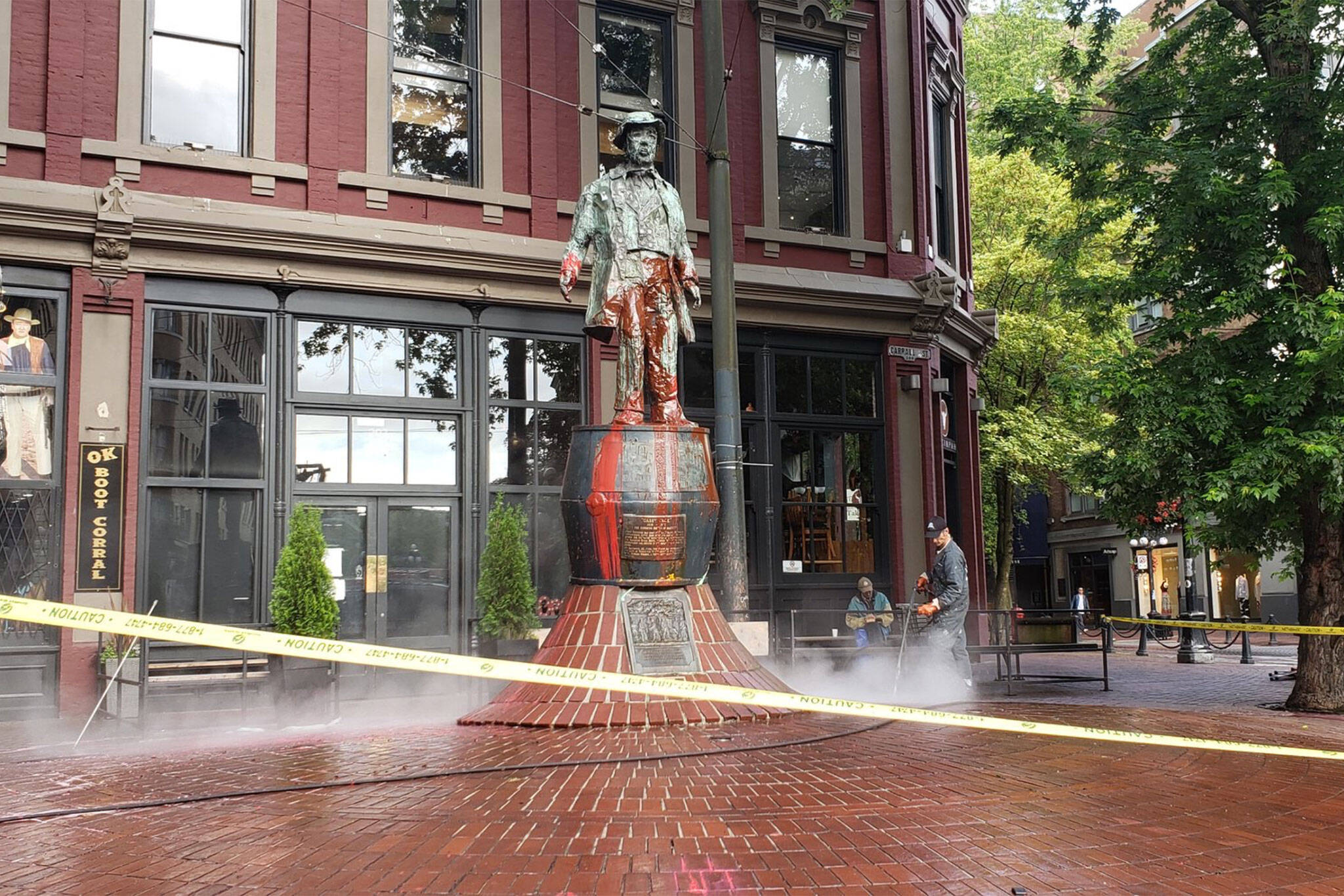 gassy jack statue