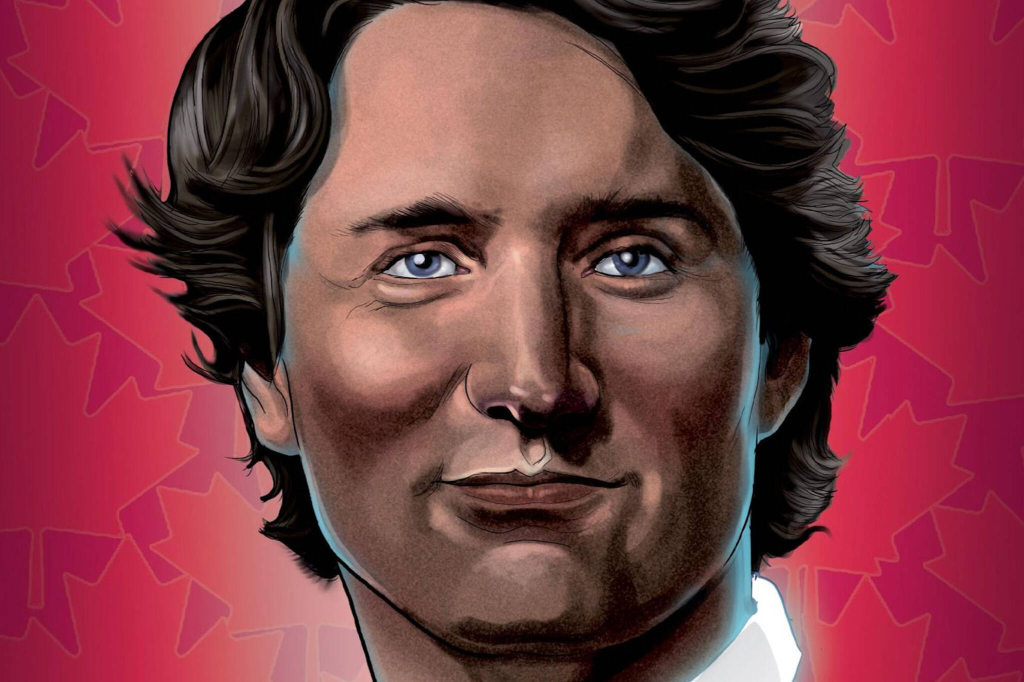 justin trudeau comic book
