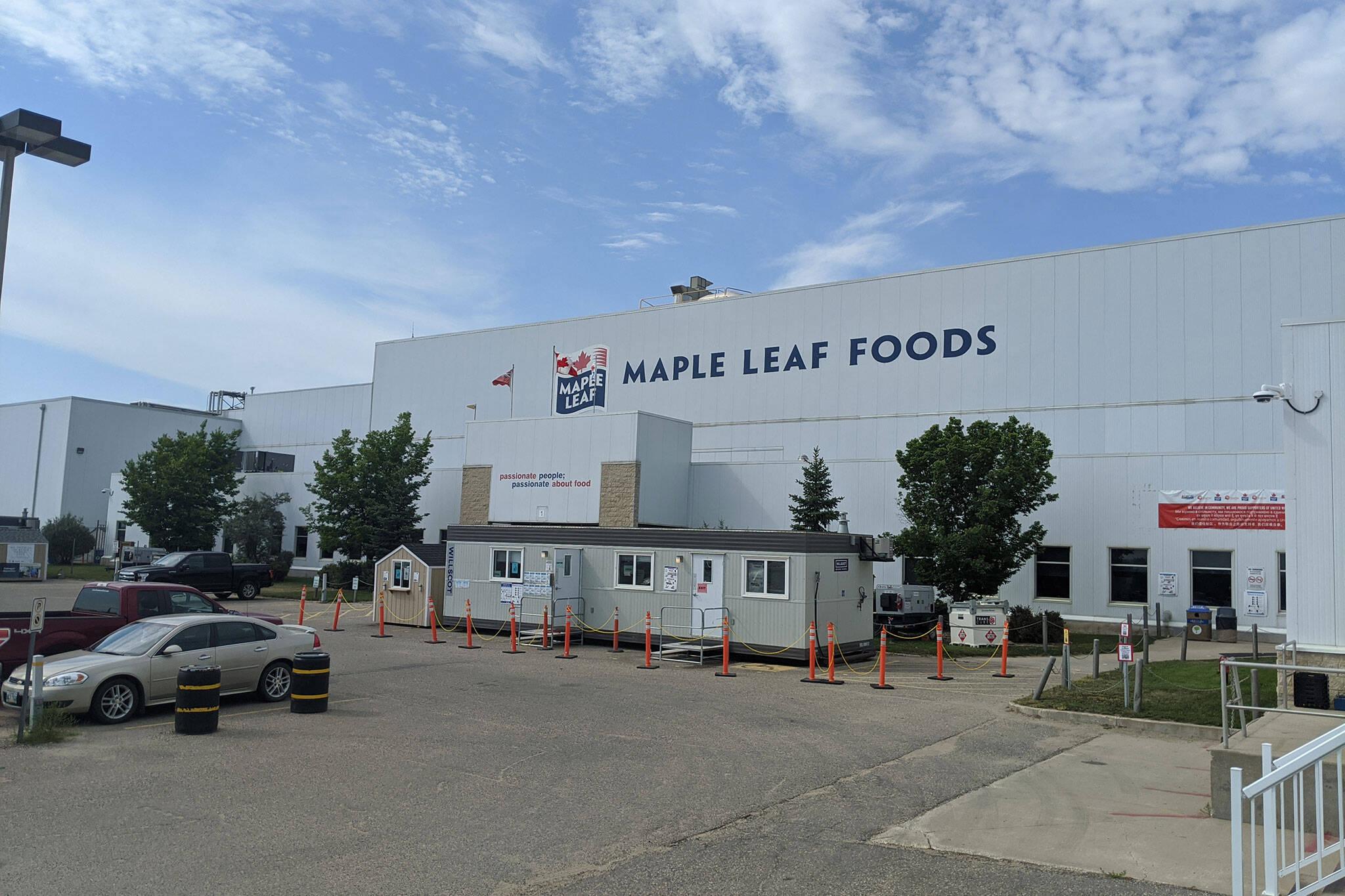 maple leaf foods brandon